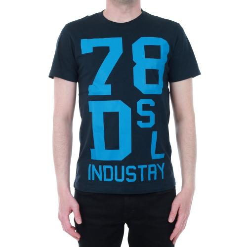 Diesel Camiseta Azul marino