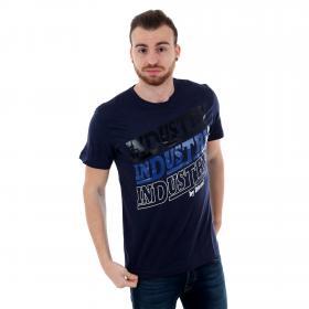 Diesel Camiseta Azul marino 00S3F-0091-8AT NAVY