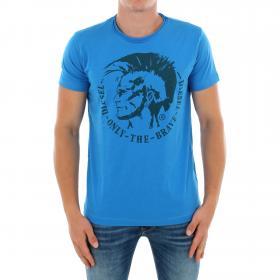 DIESEL Camiseta Azul 00CWCS-00JTS 89R