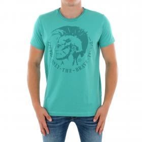 DIESEL Camiseta Azul claro 00CWCS-00JTS 8DM