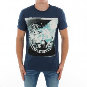 DIESEL Camiseta Azul marino 00SAG1-0W91B 86G