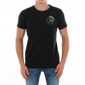 DIESEL Camiseta Negro 00AHI0-0RAIR 900
