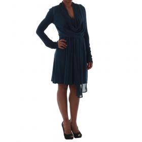 Fornarina Vestido Azul marino