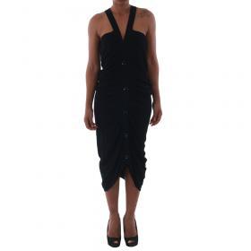 Fornarina Vestido Negro HORB_BLACK