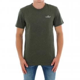 G-STAR Camiseta Verde RODIS R T SS DK SHAMROCK HTR