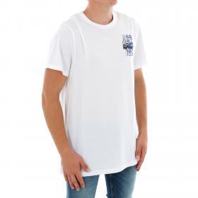 G-STAR Camiseta Blanco ZB GRAPHIC 4 R T SS WHITE
