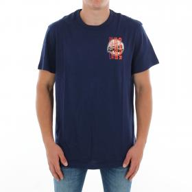 G-STAR Camiseta Azul ZB GRAPHIC 4 R T SS IMPERIAL BLUE