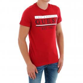 GUESS Camiseta Rojo M91I55K8540 TLRD