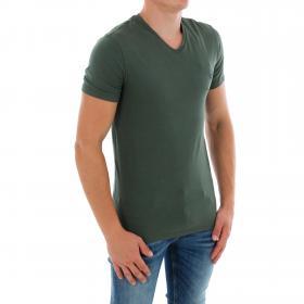GUESS Camiseta slim Verde oscuro M83I51J1300 G8G4