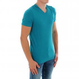 GUESS Camiseta slim Azul M83I51J1300 G7P2