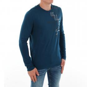 GUESS Camiseta Azul M84I9I3Z00 G7P3