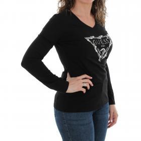 GUESS Camiseta Negro W84I62R5JK0 JBLK