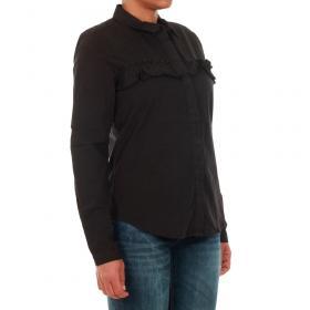 Jacqueline de Yong Camisa Negro