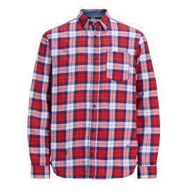 Jack&Jones Camisa Rojo 12153589 JORNICO SHIRT ORG FIERY RED