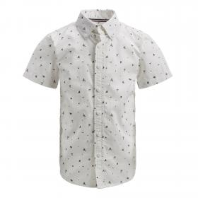 Jack&Jones Camisa Blanco 12152960 PKTDEK BEACH AOP SHIRT SS CLOUD DANCER