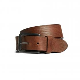 Jack&Jones Cinturón Marrón 12152757 JACVICTOR LEATHER BELT NOOS MOCHA BISQUE