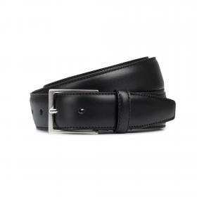 Jack & Jones Cinturón Negro 12136795 JACCHRISTOPHER BELT NOOS BLACK