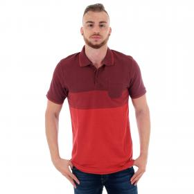 Jack & Jones Polo slim Marrón 12149589 JPRTHOMAS BLU SS POLO CHOCOLATE TRUFF SLIM FIT