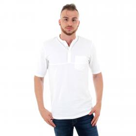 Jack & Jones Polo Blanco 12160465 JPRNASH PIQUE TUNIC SS TEE WHITE