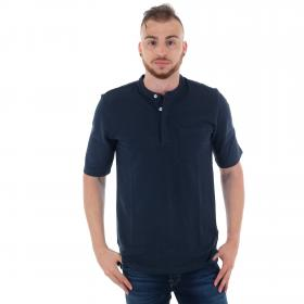 Jack & Jones Polo Azul marino 12160465 JPRNASH PIQUE TUNIC SS TEE NAVY BLAZER