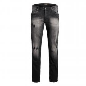 Jack & Jones Jeans slim Negro 12161460 JJITIM JJORIGINAL AM 917 PS BLACK DENIM
