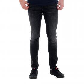 Jack & Jones Jeans slim Negro 12159030 JJIGLENN JJORIGINAL AM 817 NOOS