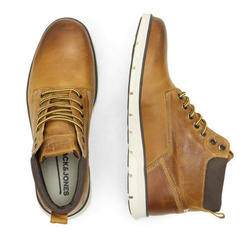 Jack&Jones Botas Marrón 12161001 JFWTUBAR LEATHER RESIST HONEY