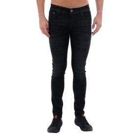 Jack & Jones Jeans slim Negro 12159173 JJLIAM JJORIGINAL JJ 179 50SPS LID STS BLACK DENIM