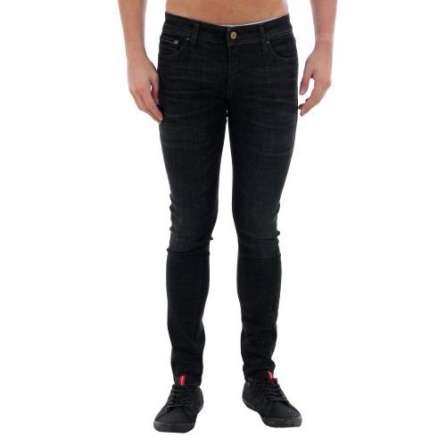 Jack&Jones Jeans slim Negro 12159173 JJLIAM JJORIGINAL JJ 179 50SPS LID STS BLACK DENIM
