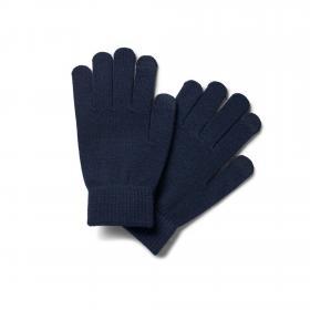 Jack&Jones Guantes Azul marino 12160358 JACHENRY KNIT GLOVES JR NAVY BLAZER