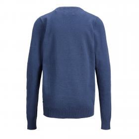 Jack&Jones Jersey Azul 12148668 JJEBASIC KNIT CREW NECK JR BLUE DENIM