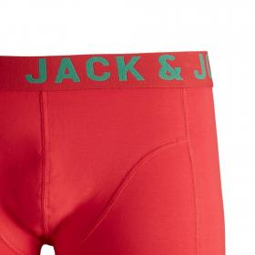 Jack&Jones Boxer Rojo 12168010 JACSIDE TRUNKS NOOS STS CHINESE RED