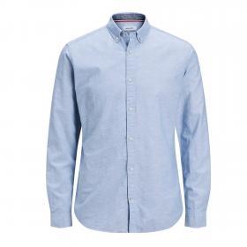 Jack&Jones Camisa Azul claro 12163855 JJESUMMER SHIRT LS S20 STS INFINITY SLIM
