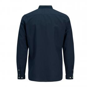Jack&Jones Camisa Azul marino 12163855 JJESUMMER SHIRT LS S20 STS NAVY BLAZER SLIM