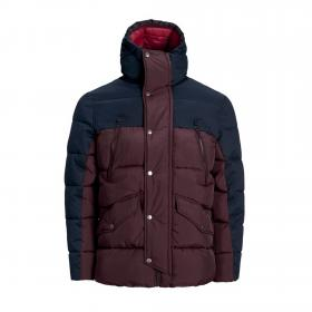 Jack & Jones Anorak Burdeos 12157975 JPRICEBREAKER PUFFER JACKET FUDGE