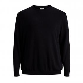 Jack & Jones Jersey Negro 12144038 JJEBASIC KNIT CREW NECK NOOS PS BLACK