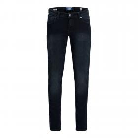 JACK&JONES Jeans skinny Azul oscuro 12168515 JJILIAM JJORIGINAL AGI 004 NOOS JR BLUE DENIM