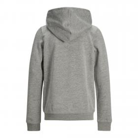 JACK&JONES Sudadera Gris 12168372 JORFLEXX SWEAT HOOD JR LIGHT GREY MELANGE
