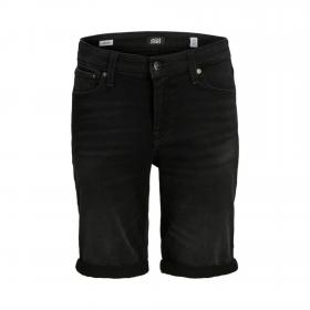 JACK&JONES Bermuda Negro 12167643 JJIRICK JJICON SHORTS GE 010 IK JR BLACK DENIM