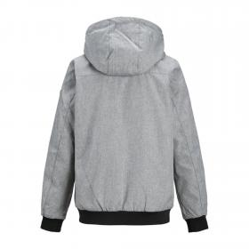 JACK&JONES Cazadora Gris 12165551 JJESHALE JACKET NOOS JR LIGHT GREY MELANGE