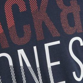 Jack & Jones Camiseta Azul marino 12172329 JCOFOKE TEE SS CREW NECK FST JR NAVY BLAZER