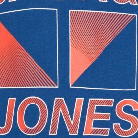 Jack & Jones Camiseta Azul 12177793 JCOBOOSTER TEE SS CREW NECK MAR 20 JR NAVY PEONY
