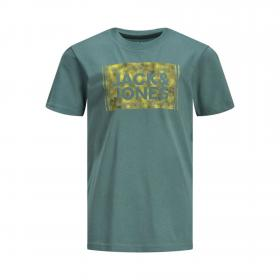 Jack & Jones Camiseta Verde 12171750 JCOTATE TEE SS CREW NECK JR NORTH ATLANTIC