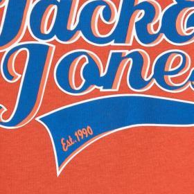Jack & Jones Camiseta Naranja 12168933 JORAYDON TEE SS CREW NECK JR CHILI