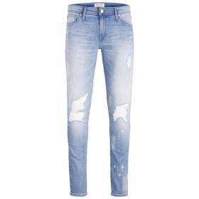 Jack & Jones Jeans skinny Azul claro 12171640 JJILIAM JJORIGINAL AM 156 50SPS TC419 BLUE DENIM