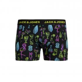 JACK&JONES Boxer Amarillo 12165388 JACPOP ELEMENTS TRUNKS STS BLACK DRINKS