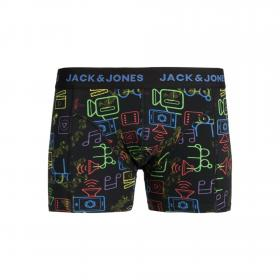 JACK&JONES Boxer Azul 12165388 JACPOP ELEMENTS TRUNKS STS BLACK LOGO