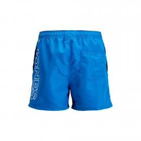 JACK&JONES Bañador Azul 12169633 JJIARUBA JJSWIMSHORTS AKM JONES STS FRENCH BLUE