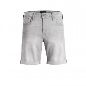 JACK&JONES Bermuda Gris 12169897 JJIRICK JJORIGINAL SHORTS AGI 003 JR GREY DENIM