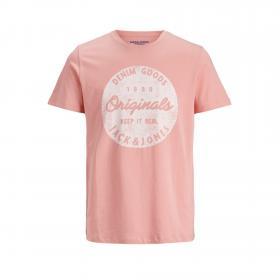 Jack & Jones Camiseta Rosa 12172450 JORTORINO TEE SS CREW NECK JR ROSETTE